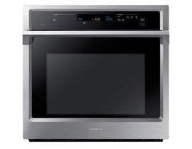 Samsung 30 inch 5.1 cu.ft. Single Convection Wall Oven with steam bake in stainless steel NV51K6650SS