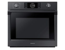 Samsung 30 inch 5.1 cu.ft. Built-in Single Convection Wall Oven in Black NV51K7770SG