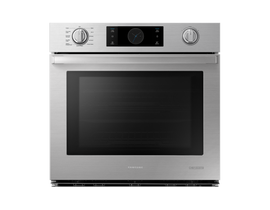 "Samsung 30"" 5.1 cu. ft. Chef Collection Single Wall Oven with Flex Duo in Stainless Steel NV51M9770SS"