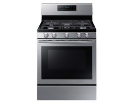 Samsung 30 inch 5.8 cu.ft. Gas Range self-clean in stainless steel NX58H5600SS