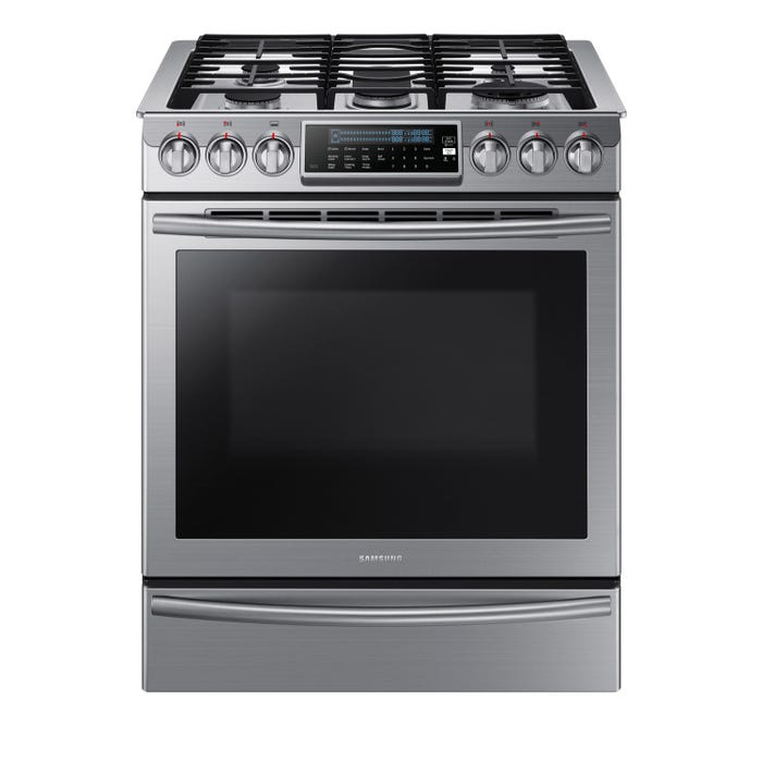 Samsung 30 inch 5.8 cu.ft. Gas Range in stainless steel NX58H9500WS