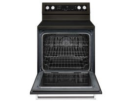 KitchenAid® 30-Inch 5-Element Electric Convection Range YKFEG500EBS