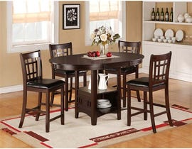 K-LIVING Cayman Storage Pub HIGH Dining Set (1 Table and 4 Chairs) P-3030SET