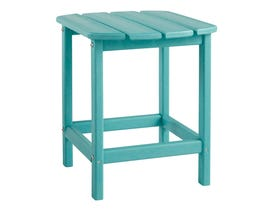 Signature Design by Ashley Sundown Treasure Rectangular End Table in Turquoise P011-703
