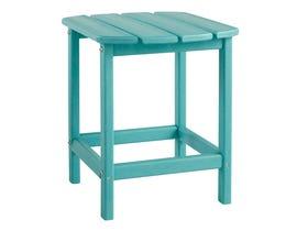 Signature Design by Ashley Sundown Treasure Rectangular End Table in Turquoise P011-703