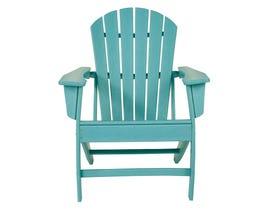 Signature Design by Ashley Sundown Tresure Adirondack Chair in Turquoise P011-898