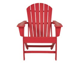 Signature Design by Ashley Sundown Tresure Adirondack Chair in Red P013-898