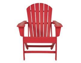 Signature Design by Ashley Sundown Tresure Adirondack Chair in Red P013-898