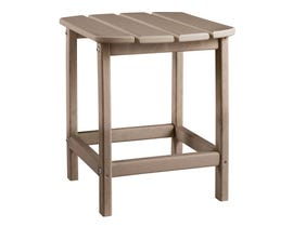 Signature Design by Ashley Sundown Treasure Rectangular End Table in Grayish Brown P014-703