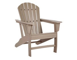 Signature Design by Ashley Sundown Treasure Adirondack Chair in Grayish Brown P014-898