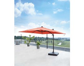 Signature Design by Ashley Oakengrove Large Cantilever Umbrella in Coral P017-990