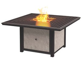 Signature Design by Ashley Town Court Square Fire Pit Table in Brown P436-772