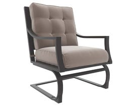 Signature Design by Ashley 4-PC Town Court Spring Lounge Chair in Brown P436-821