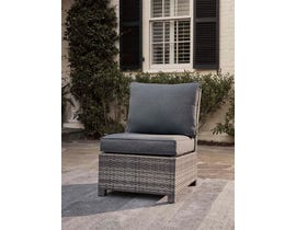 Signature Design by Ashley Salem Beach Armless Chair in Gray P440-846