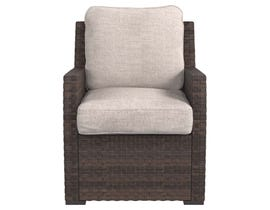 Signature Design by Ashley Salceda Lounge Chair with Cushion in Brown
