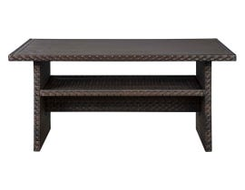 Signature Design by Ashley Easy Isle Multi-Use Table in Dark Brown P455-625