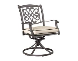 Signature Design by Ashley Burnella 2-PC Swivel Chair with Cushion Dark Brown P456-602A