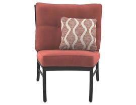 Signature Design by Ashley Burnella Armless Chair with Cushion in Burnt Orange P456-846