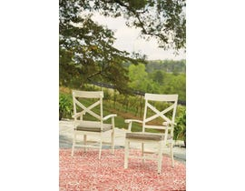Signature Design by Ashley Preston Bay Arm Chair in Antique White P460-601A