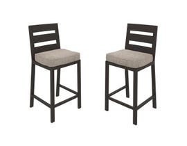 Signature Design by Ashley Perrymount 2-PC Barstool with Cushion in Dark Brown P539-130