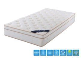 Brassex 10.5'' Euro Top Queen Mattress with Pocket Coil  P6104
