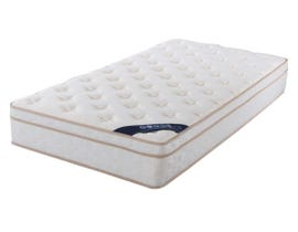 Brassex 10.5'' Euro Top Twin Mattress with Pocket Coil  P6104 S