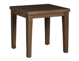 Signature Design by Ashley Paradise Trail Square End Table in Medium Brown P750-702