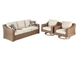 Signature Design by Ashley Beachcroft 3-PC Sofa/Chair in Beige P791-838-821(2)