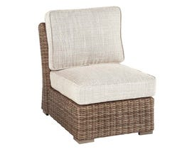 Signature Design by Ashley Beachcroft Armless Chair with Cushion in Beige P791-846