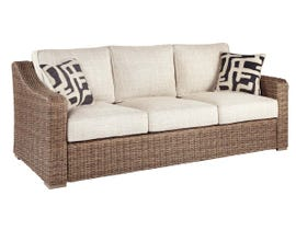 Signature Design by Ashley Beachcroft Sofa with Cushion in Beige P791-838