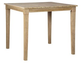 Signature Design by Ashley Clare View Square Bar Table in Beige P801-613