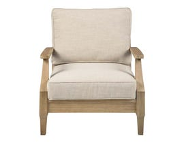 Signature Design by Ashley Clare View Lounge Chair with Cushion in Beige P801-820