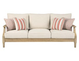 Signature Design by Ashley Clare View Sofa with Cushion in Beige P801-838