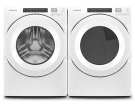 Amana Laundry Pair 4.3 cu. ft. Front Load Washer NFW5800HW & 7.4 cu. ft. Electric Dryer YNED5800HW