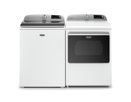 Maytag Laundry Pair 5.4 cu. ft. Washer MVW6230HW & 7.4 cu. ft. Electric Dryer YMED6230HW