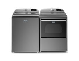 Maytag Laundry Pair 5.4 cu. ft. Washer MVW6230HC & 7.4 cu. ft. Electric Dryer YMED6230HC