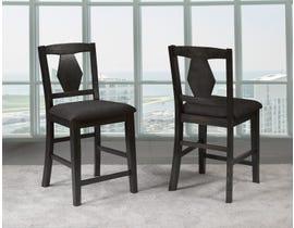 Grace Series Pub Chairs in Dark Grey P-5454