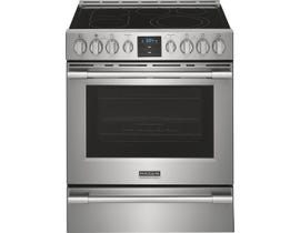 Frigidaire 30 inch 5.4 cu. ft. Electric Range with Air Fry in Stainless Steel PCFE307CAF