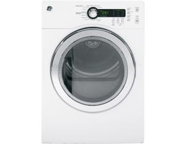GE Appliances 4.0 cu.ft. Front Load Electric Dryer in White PCVH480EKWW