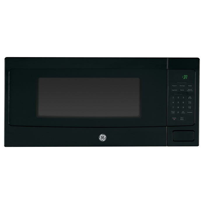 GE Profile 24 inch 1.1 cu.ft. Spacemaker counter top/built-in Microwave Oven in Black PEM10BFC