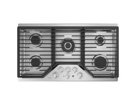 GE Profile 36 inch 5-Burner Built-In Gas Cooktop in Stainless Steel PGP9036SLSS