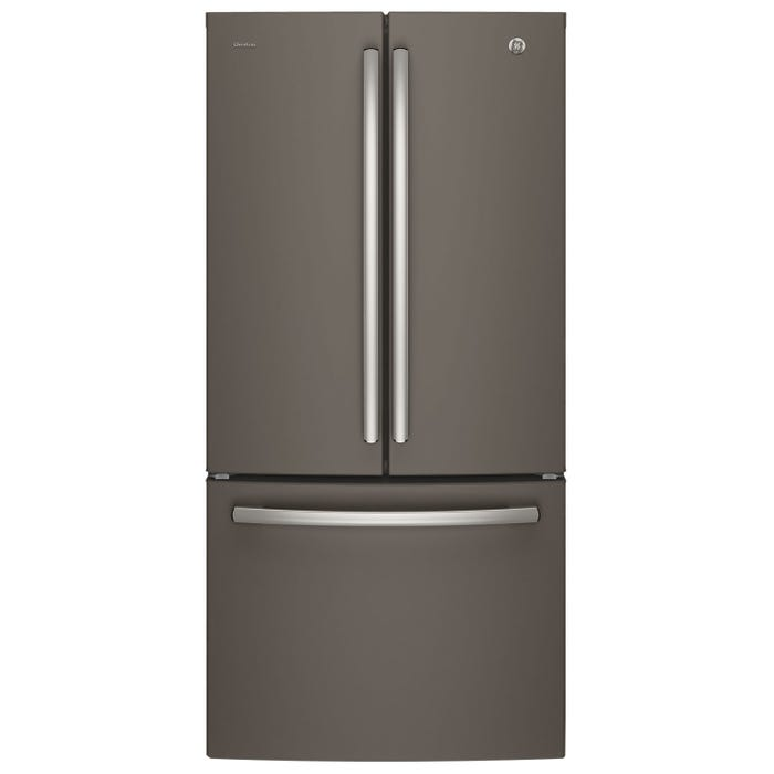GE Profile 33 inch 24.5 cu.ft. French Door Bottom-Mount refrigerator slate PNE25NMLKES