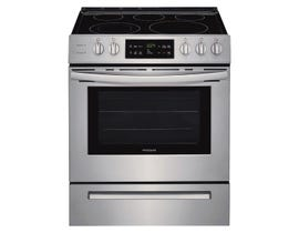 "Frigidaire 30"" Front Control Freestanding Electric Range in Stainless Steel CFEH3054US"