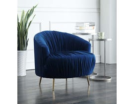 High Society Princeton Series Accent Chair in Navy 848