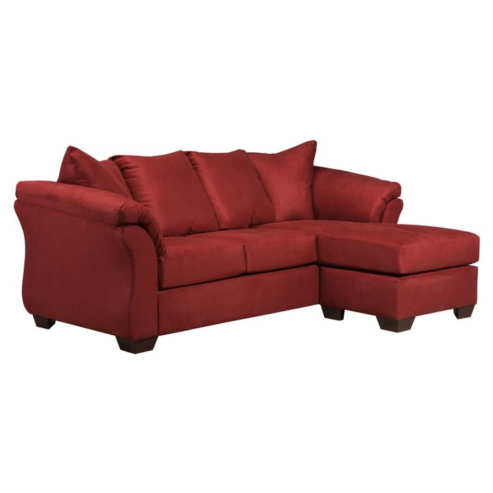 Signature Design by Ashley Sofa Chaise in darcy salsa red 7500118