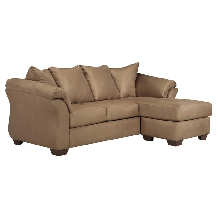 Signature Design by Ashley Sofa Chaise in mocha brown 7500218