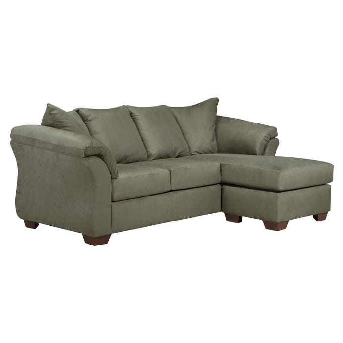 Signature Design by Ashley Sofa Chaise in darcy sage grey 7500318