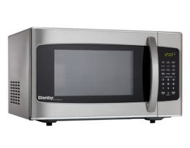 Danby 20 inch 1.1 cu.ft.Countertop Microwave Oven in Stainless Steel DMW111KSSDD