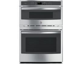 GE Profile 30 inch 6.7 cu. ft. Built-In Combination Convection Wall Oven in Stainless Steel PT7800SHSS