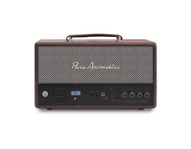 Pure Acoustics Edgewater Wireless Stereo Speaker in Brown